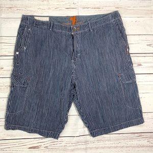 Tommy Bahama striped cargo shorts
